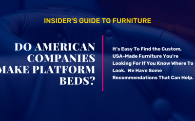 Are There American-Made Platform Beds?