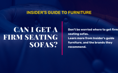 Where Can I Get a Firm Seating Sofas?